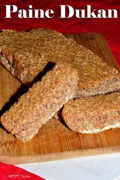 Paine Dukan 2 Blood Type Diet, Dukan Diet, Nutrition, Diet Tips, I Foods, Banana Bread, Deserts, Vegetarian, Healthy Recipes