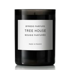 Tree House - Candle 8.4oz by Byredo. Shop now at http://www.aedes.com!