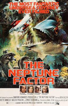 Neptune Factor (1973) Original One-Sheet Movie Poster