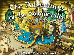 Almost Supermom: The Adventures of the Salamander - Book Review and Giveaway
