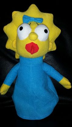 "THE SIMPSONS 12"" MAGGIE PLUSH STUFFED DOLL TOY FACTORY 2015  #TOYFACTORY"