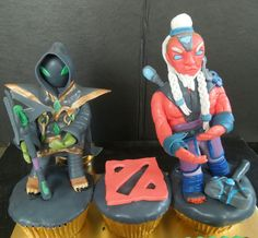 dota cupcake by @Gunaydin.Cake ( instagram ) , visit my instagram for another cake 😊  #dotacupcake #dotacake #disruptorfiguring #rubickfiguring #dotafiguring #rubickdota #dota #cakeart #artcake #gunaydincake dota  cake , dota cupcake