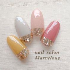 Glitter Toe Nails, Pink Acrylic Nails, Pastel Nails, Bling Nails, Red Nails, Hair And Nails, Japanese Nail Design, Japanese Nails, Hello Kitty Nails