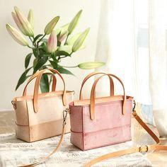 Handmade Womens Leather Handbag Tote Purse Tote Cute Shopper Side Tote Bag for Men Satchel Handbags, Leather Handbags, Leather Totes, Small Tote Bags, Handmade Handbags, Tote Purse, Green Leather, Purses And Bags, Beach Bags
