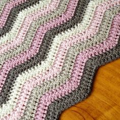 Hand Crocheted Baby Blanket Pure Australian Wool by BuFairTrade