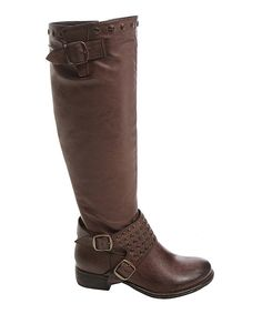 Take a look at this Brown Jenny Boot on zulily today!