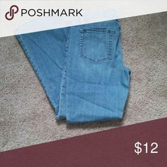 "Gap Light Wash Jeans These COMFORTABLE jeans feature a ""faded denim"" look and are a 10 short. Gap Pants Boot Cut & Flare"
