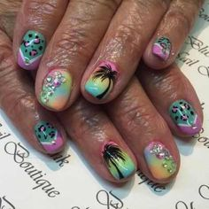 rhinestone nail art designs for 2016 2017 - style you 7