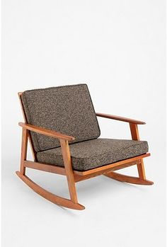 Urban Outfitters Mid-Century Rocker! At only $289 I want to have another baby just to put it in the nursery.