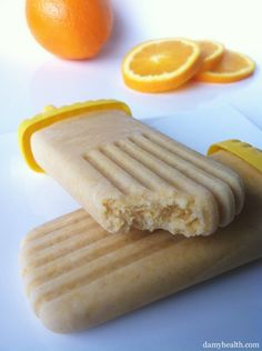 Check out my Skinny Orange Creamsicles (With Added Protein). This recipe is gluten free, no bake, 1-step prep, refreshing, perfect for cravings and great for children and adults alike.