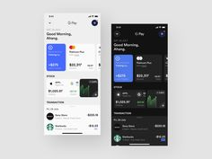 Redesign Financial Concept Application by 7ahang App Ui, Ui Ux, Mobile App Design, User Interface, Ui Design, Mood Boards, Ios, Calendar, Concept