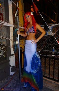 "Ariel the ""not so little mermaid' - 2012 Halloween Costume Contest"