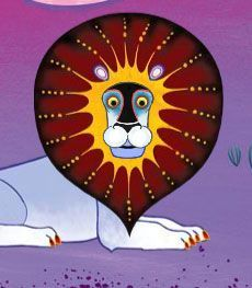 Tinga Tinga Tales: great show gor kids, awesome illustrations paintef by artists in Tanzania