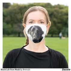 Black Lab Face Mask Black Labrador Retriever, How To Protect Yourself, Health And Safety, Sensitive Skin, Face, How To Wear, Beauty, The Face, Faces