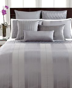 CLOSEOUT! Hotel Collection Classic Stripe Bedding Collection