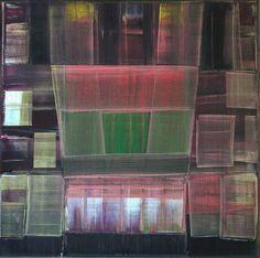 Brodway - Painting - Philippe Vandeputte -Oil - Abstract - Peinture - Philippe Vandeputte - Huile - Abstrait - gerhard richter, Jules Olitski, Olivier Debré -