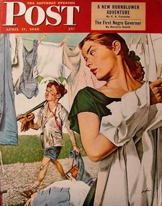 Post cover, 1948 // By  George Hughes (1900-1990)
