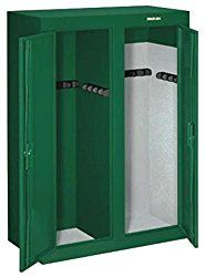 Stack-On Convertible Doube-Door Steel Security Cabinet Stack-On's Convertible Double-Door Steel Security Cabinet is tested Gun Storage, Locker Storage, Stack On Gun Safe, Wood Gun Cabinet, Drawer Labels, Safe Shop, Home Safes, Amish Furniture, Double Doors