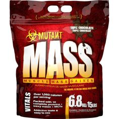 PVL MUTANT MASS MUSCLE MASS WEIGHT GAINER 2.2KG OR 6.8KG 10 PROTEINS WAXY MAIZE in Sporting Goods | eBay