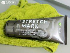 Nous gardons toujours ce produit à portée de main! Un peu de Stretch Mark tous les jours minimisera l'apparence des vergetures, des ridules et d'autres cicatrices de peau! vanesswrap.itworkseu.com plus d'info en mp