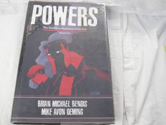 Powers Volume 1 Comic Book hard Cover with Dust Jacket Bendis Oeming dated 2005 - http://raise.bid/store/books/powers-volume-jacket/