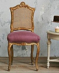 French Antiques & French Country Decor and Luxury Gifts for Home and Garden . Cane Furniture, Dining Furniture, French Decor, French Country Decorating, Black And Gold Bathroom, Antique French Furniture, Gold Bedroom, French Chairs, Faux Bamboo