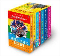 The World of David Walliams: Super-Tastic Box Set: Amazon.co.uk: David Walliams: 9780008182670: Books