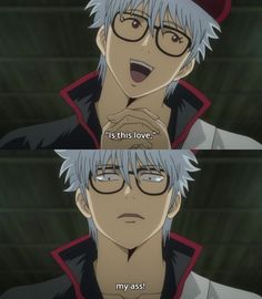 Gintama. Loved the Manga series with sachi (the jail guy) when he falls in love with the sensei. XD so cute.