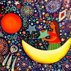 Te regalo una estrella Beatriz Aurora , acrílico , 2008