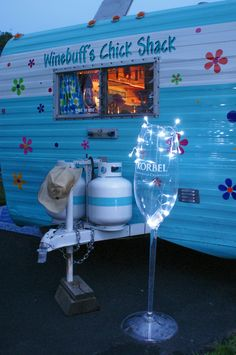 winebuffs chick shack vintage caravan....fun.