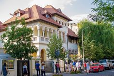Palate, Bucharest, Street View, Mansions, House Styles, Home, Decor, Decoration, Manor Houses