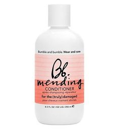 Bumble and bumble Mending Conditioner 250ml 100 Advantage card points. Bumble and bumble Mending Conditioner is a rich conditioner that begins repairing damage without stripping colour, wilting perms or reverting chemically straightened hair. F http://www.MightGet.com/april-2017-1/bumble-and-bumble-mending-conditioner-250ml.asp
