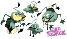 ca-tsuka:  Early Hotel Transylvania character-designs by Fabien Mense - Part 2(Part 1)