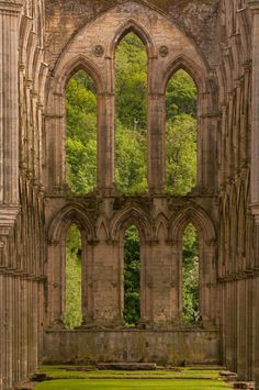 "wanderthewood: "" Rievaulx Abbey, North Yorkshire, England by Steve Bird1 """