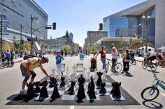 Street Chess ciclavie 2012