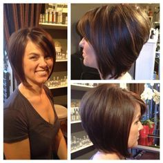 A-Line Bob By Stylist Leah Villagran