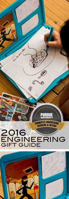 """The Extraordinaires™ Design Studio"""" Deluxe  is one of the many fun toys reviewed in the 2016 Purdue Engineering Gift Guide available now!"""