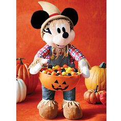 Get your Mickey Mouse Scarecrow Greeter with Treat Bowl https://maryblake.avonrepresentative.com/