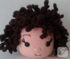 Amigurumi bebeklere kıvırcık saç nasıl yapılır?