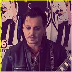 Johnny Depp Promotes the Hollywood Vampires in New Video