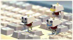 robot art :  keybon