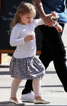 Harper Beckham Fashion Blog: May 2015: Harper & DB out in London