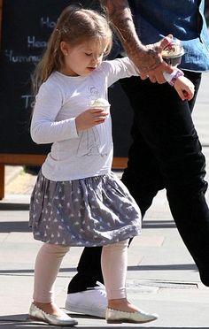 Harper Beckham Fashion Blog: May 2015: Harper & DB out in London
