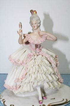 dresden figurines | Found on ebay.com