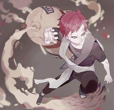 Ataúd de arena! Naruto Shippuden, Naruto Gaara, Anime Naruto, Naruto Fan Art, Naruto Cute, Anime Manga, Itachi, Gaara Cosplay, Naruhina