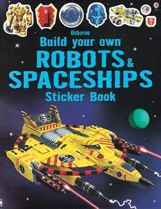 Budding engineers will love this technical book, which is like a construction toy in sticker book form. Use the stickers to add laser cannons, stun guns a Monster Stickers, Truck Stickers, Space Books For Kids, Build Your Own Robot, Space Warriors, Space Theme, Book Nooks, Toy Store, Book Activities