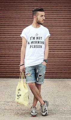 "Yeah Bunny T Shirt ""I'm Not A Morning Person"" #fashion #mensfashion #menswear #mensstyle #style #outfit #ootd"