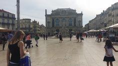 Montpellier town square Montpellier, Louvre, Street View, France, Building, Places, Travel, Viajes, Buildings