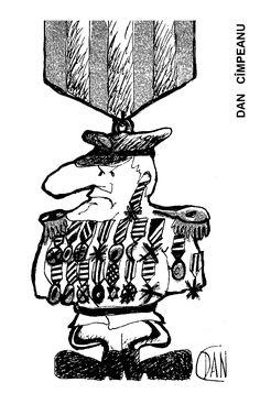 Caricatura de DAN CIMPEANU, publicata in almanahul PERPETUUM COMIC '97 editat de URZICA, revista de satira si umor din Romania