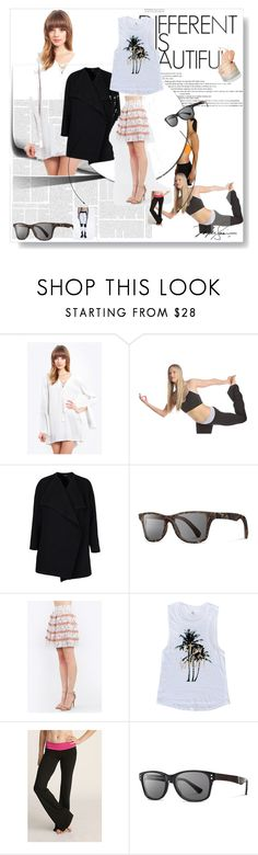 """""""casual yoga day!"""" by fashionyoustore ❤ liked on Polyvore"""